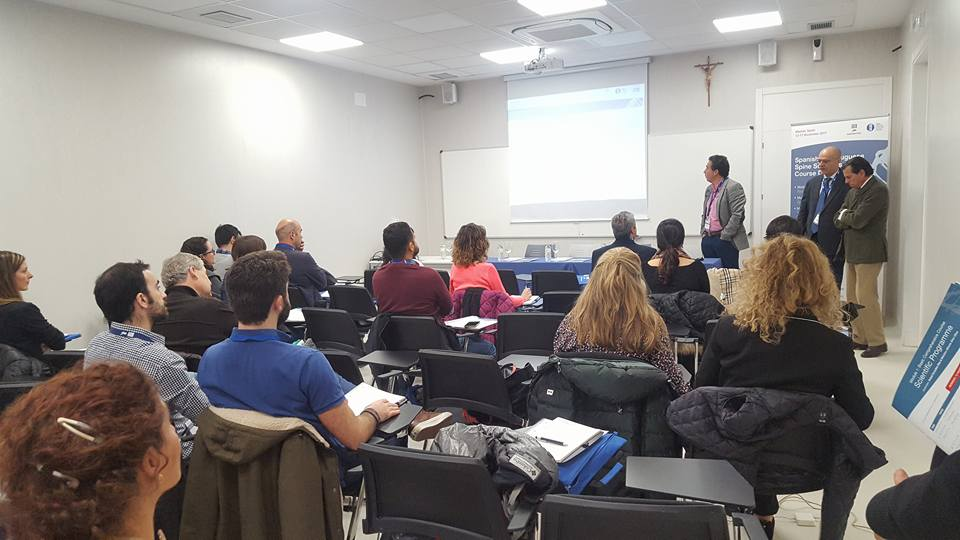Spanish Spine Society Course Diploma & SPPCV Course Diploma